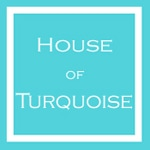 Just Featured on House of Turquoise!