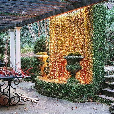 A Waterfall Of Lights- So Easy!!