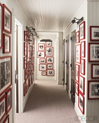 Red Picture Frames-Just in Time For Valentines Day.
