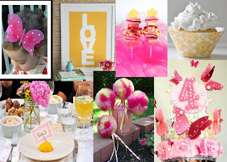 Lauren's 2nd Birthday Inspiration Board!!