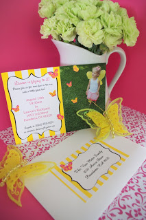 Lauren's Butterfly Party Invitations!!