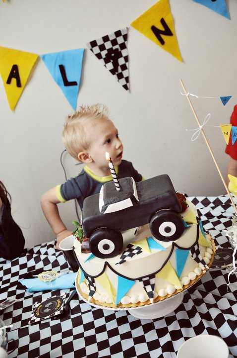 {Blissful Customers} Monster Truck Party