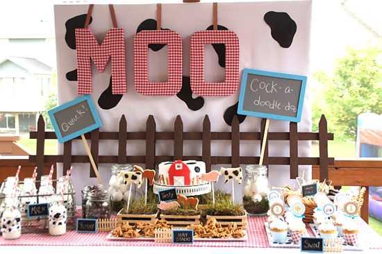 {Blissful Customers) Barnyard Party