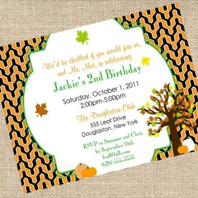 {Blissful Customers} A Fall Birthday Party
