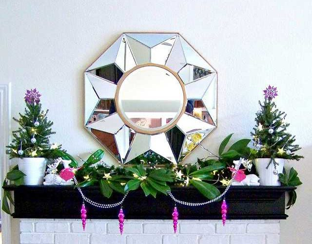 {Guest Post} Holiday Mantels by Cassie of Hi Sugarplum