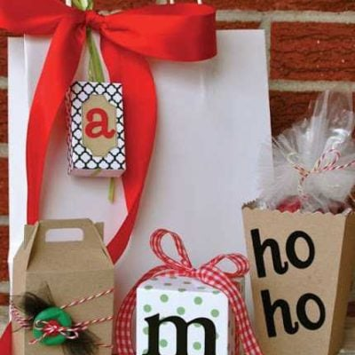 {Guest Post} Easy Holiday Gift Wrapping by Pamela Smerker Designs