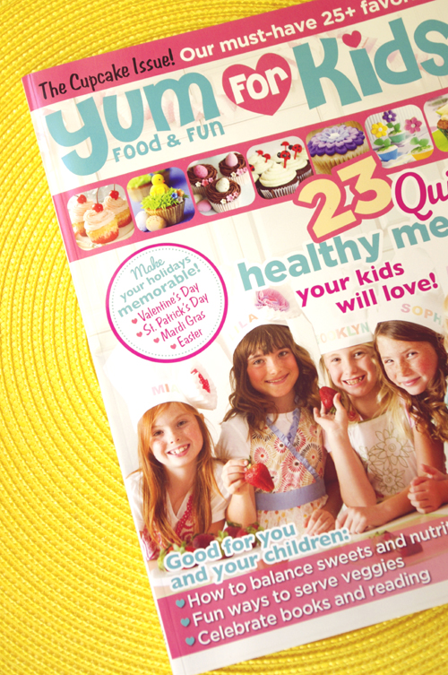 Cover {Press} A Blissful Nest Featured on Yum For Kids Magazine