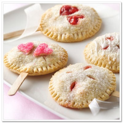 Valentines Pie Pops