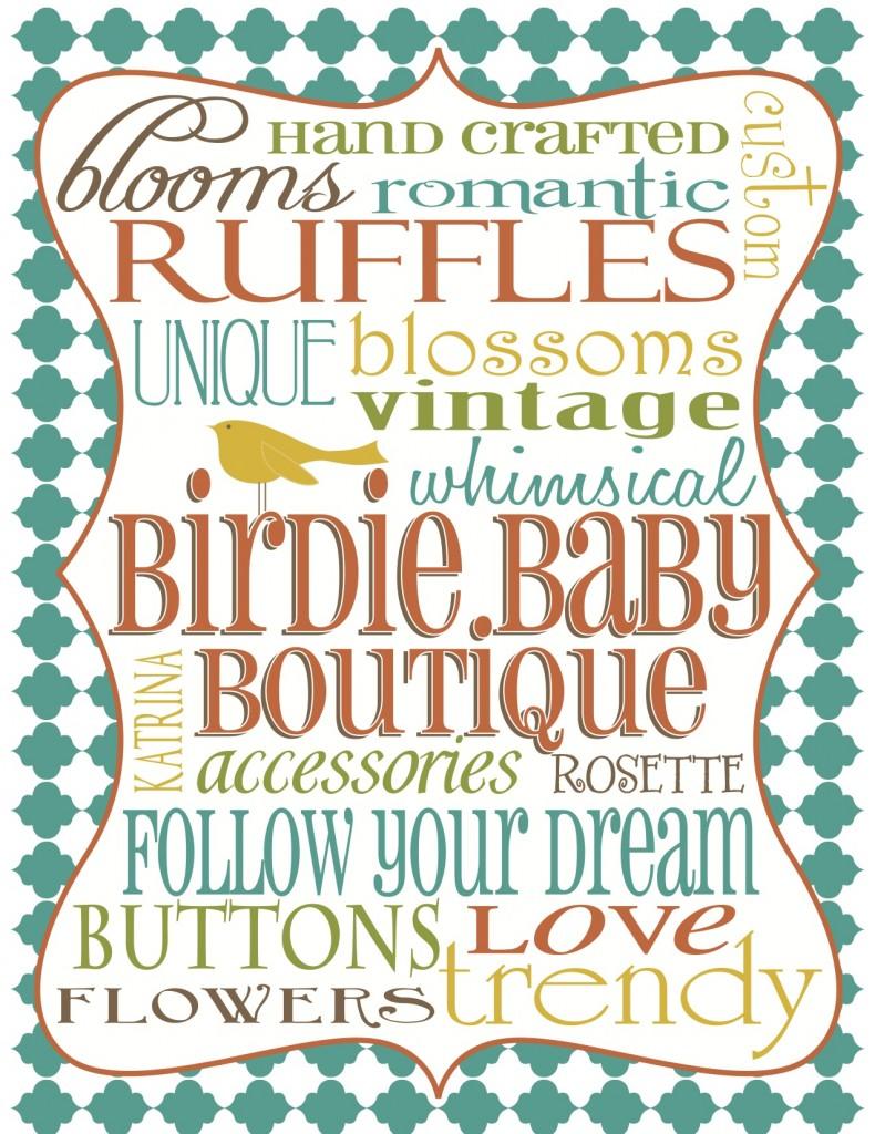 Birdie Baby Boutique Subway Art 1a 790x1024 {Giveaway} Birdie Baby Boutique Grab Bag