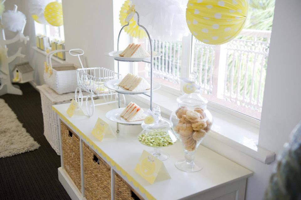 Fairydust Stylish Stationery 012 {BN Black Book of Parties} Bright Yellow and White 12th Birthday Party
