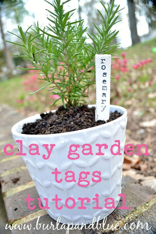 {DIY Tutorial} Garden Markers