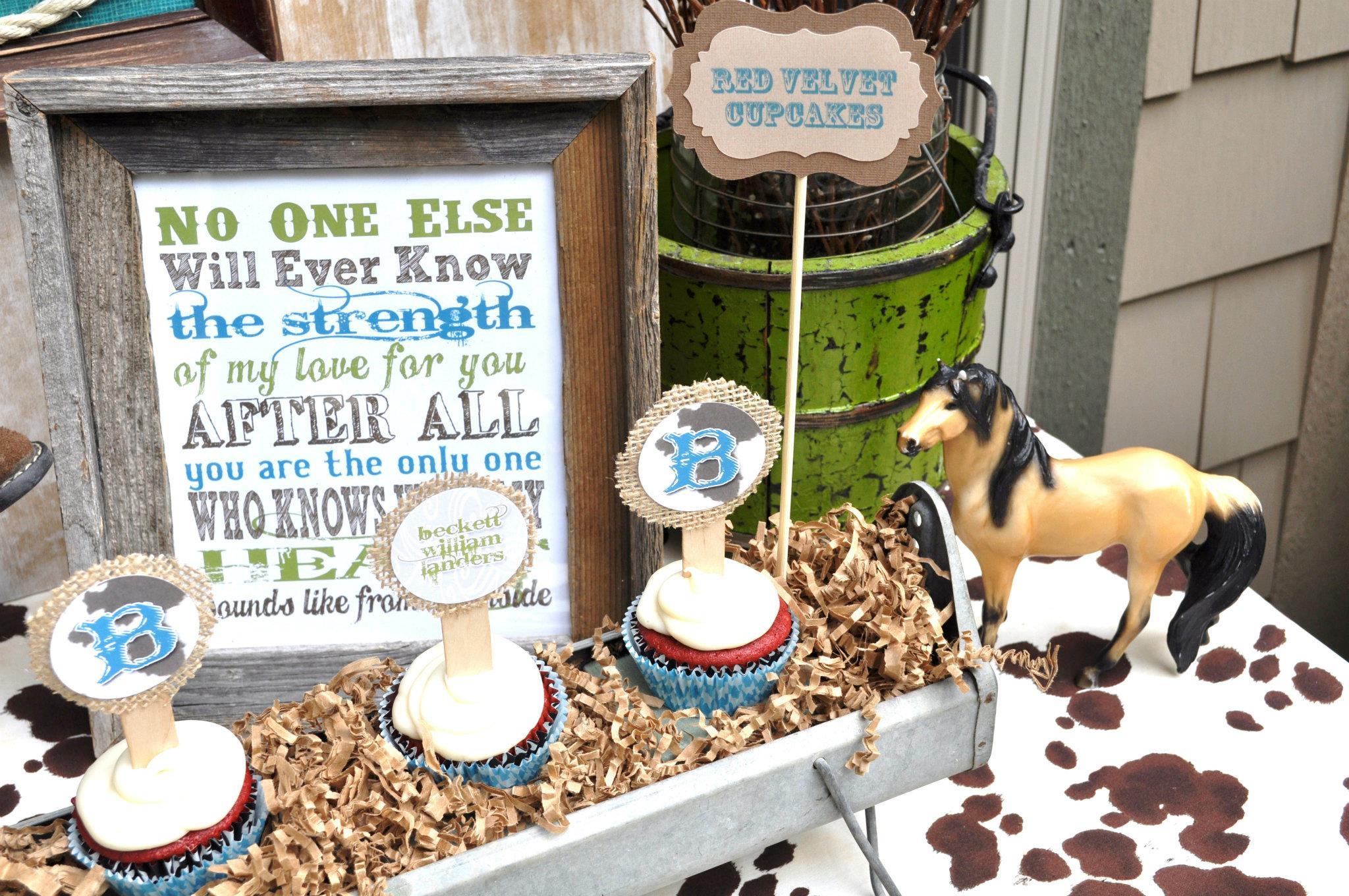 {BN Black Book Of Parties} U0027Lil Cowboy Themed Baby Shower   A Blissful Nest