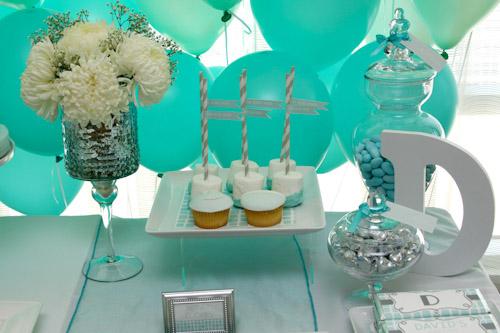 A Blissful Nest Top It Off Designs 10 {BN Black Book of Parties} Modern Elephant Baptism Celebration