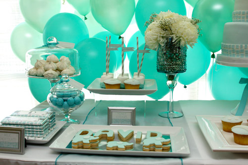 A Blissful Nest Top It Off Designs 13 {BN Black Book of Parties} Modern Elephant Baptism Celebration