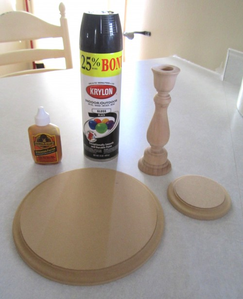 Candlestick Cake Stand