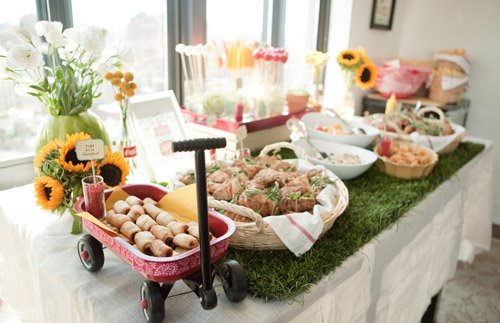 BN Black Book of Parties} Picnic 1st Birthday Party - A Blissful Nest