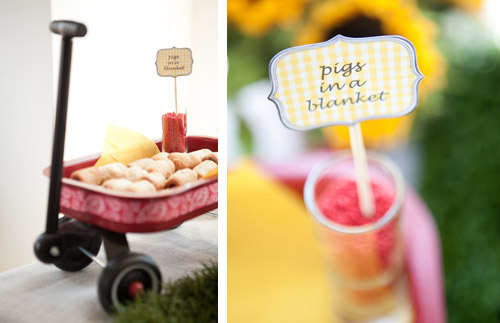 A Blissful Nest Little Miss Party Planner Picnic 1st BDay 10 {BN Black Book of Parties} Picnic 1st Birthday Party