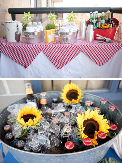 A Blissful Nest Little Miss Party Planner Picnic 1st BDay 5 {BN Black Book of Parties} Picnic 1st Birthday Party