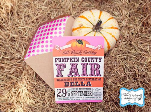 A Blissful Nest Wendy Updegraff Photography Pumpkin County Fair 10 {BN Black Book of Parties} Pumpkin Party County Fair Birthday
