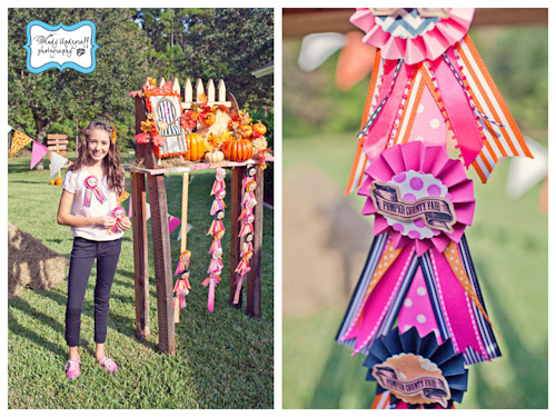 A Blissful Nest Wendy Updegraff Photography Pumpkin County Fair 12 {BN Black Book of Parties} Pumpkin Party County Fair Birthday