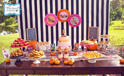 A Blissful Nest Wendy Updegraff Photography Pumpkin County Fair 3 {BN Black Book of Parties} Pumpkin Party County Fair Birthday