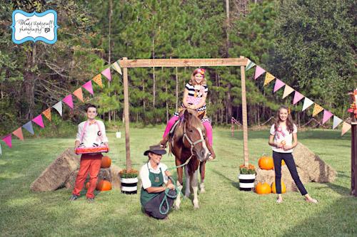 A Blissful Nest Wendy Updegraff Photography Pumpkin County Fair 7 {BN Black Book of Parties} Pumpkin Party County Fair Birthday