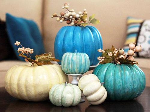 original Landee Anderson Halloween pumpkin display s4x3 lg Pretty As a Pumpkin!