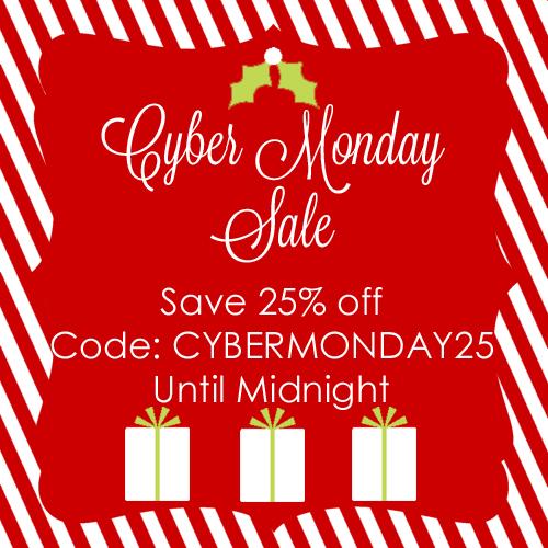 Cyber Monday Sign copy Cyber Monday Sale!