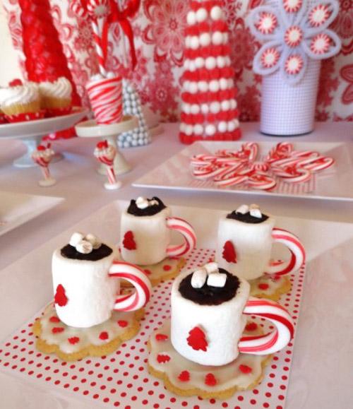 BN Black Book Of Parties Sweet Dreams Christmas Dessert Table