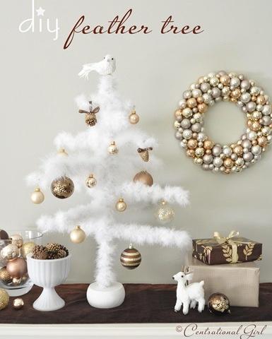 Christmas Decorating A Blissful Nest 3 Pinterest Party   Christmas Decorating Ideas Unveiled!