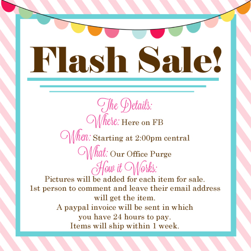 Flash Sale A Blissful Nest Is Purging Their Office