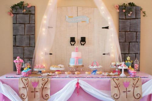 Sleeping Beauty Party Dessert