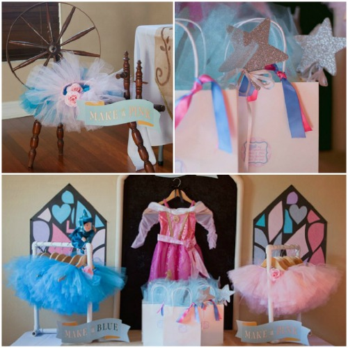 Sleeping Beauty Party Favors