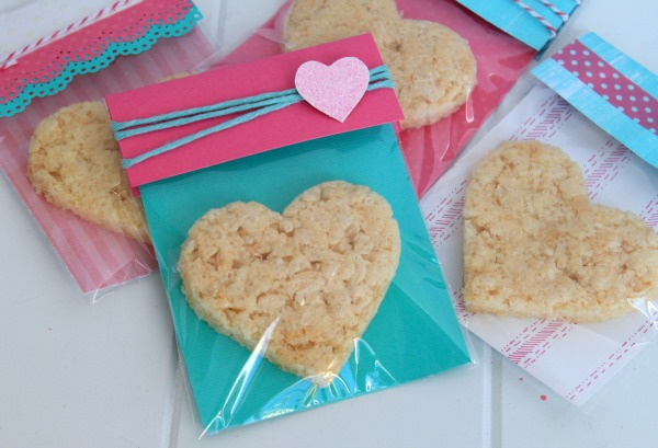 diy tutorial valentines day treat bags