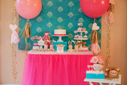 Call Me Maybe Valentine's Day Party – The Dessert Table