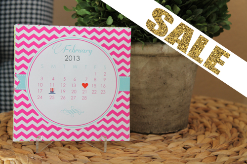 Desk Calendars - A Blissful Nest