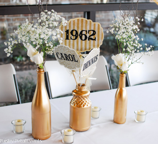 50th wedding anniversary decorations romantic decoration for Anniversary decoration ideas