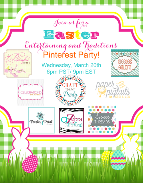Easter Pin Party Graphic