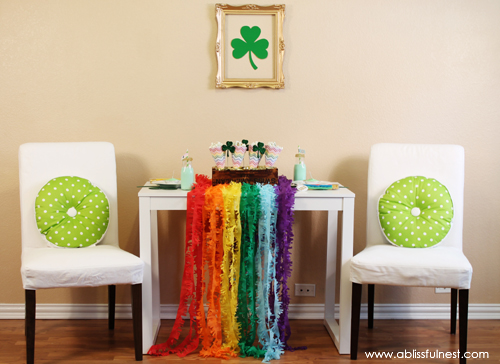 St. Patricks Day Party Ideas - A Blissful Nest