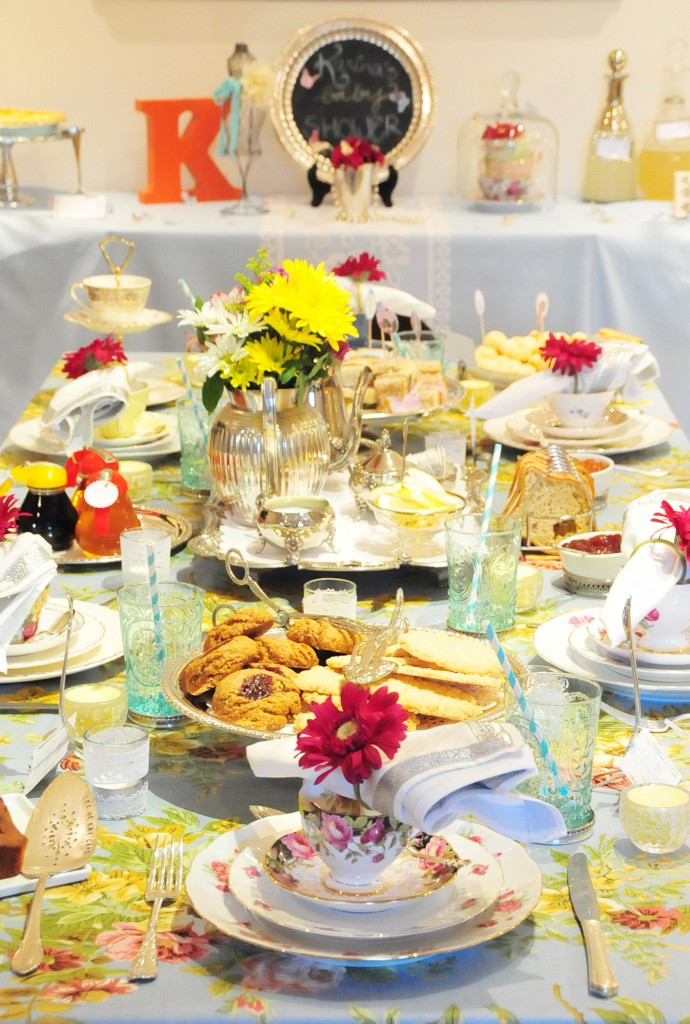 Baby Showers Tea Party ~ Vintage tea party baby shower