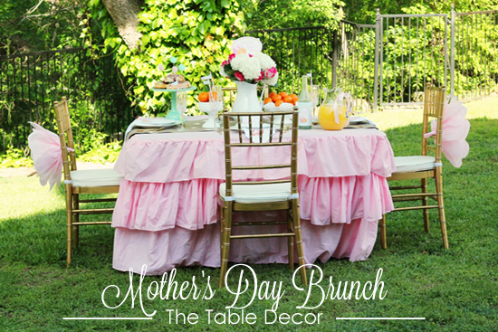 Mother's Day Brunch - A Blissful Nest