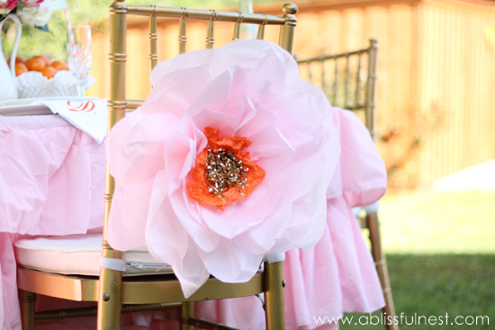 Oversized tissue paper flowers diy tutorial oversized tissue paper flowers mothers day brunch a blissful nest mightylinksfo