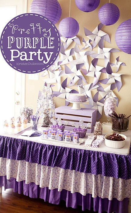 Pretty Purple Party
