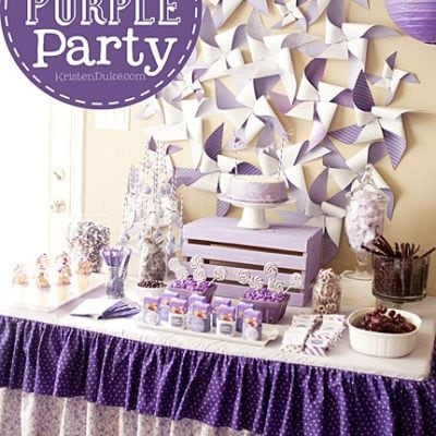 {BN Black Book of Parties} Pretty Purple Party