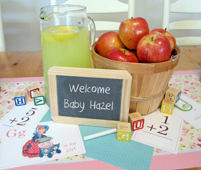 Vintage School Baby Shower - Sweeten Your Day
