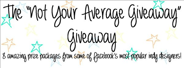 Not Just Your Avergage Giveaway!