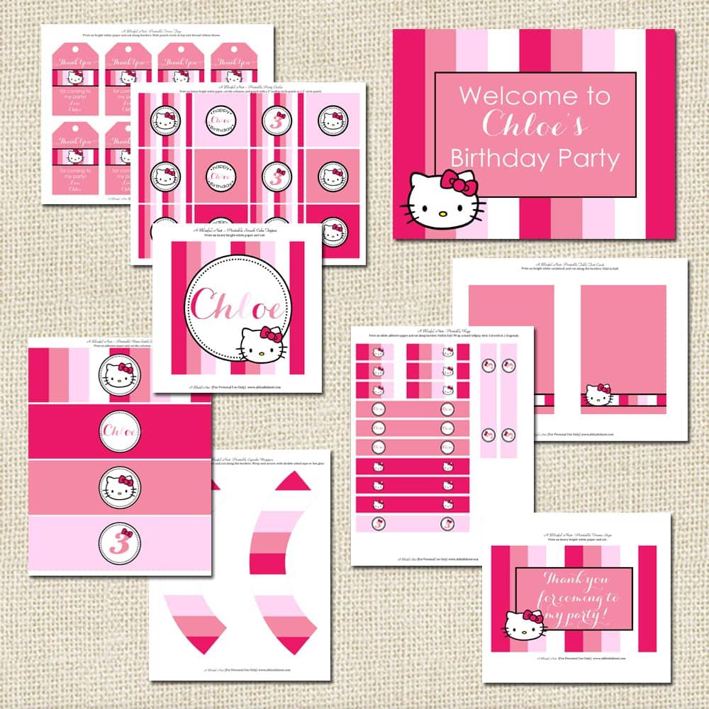 Hello Kitty Calendar Printable Hello kitty collection a