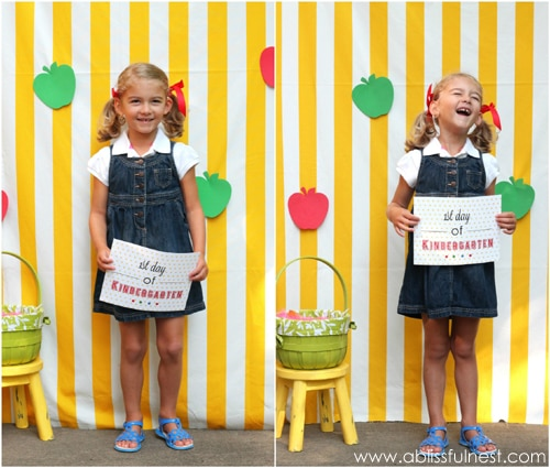 First Day Of School Photo Ideas + Free Printable Signs