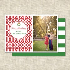 Holiday Christmas Cards - Trellis - A Blissful Nest2