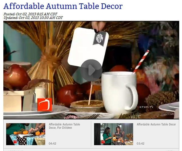 {Press} The Broadcast TV – Our Preppy Dot Coaster's Featured On TV!!